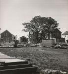 Photographs of the Aftermath in Island Park of Hurricane Carol in 1954 (9. Front Side)